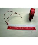 Masking Tape, Washi Tape Weihnachten rot Merry Christmas 15 mmx 10 m