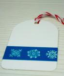 Masking Tape, Washi Tape Weihnachten Sterne blau 15 mm x 10 m