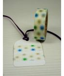 Masking Tape, Washi Tape Sterne, blau-gold-grün 15 mm x 10 m