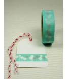 Masking Tape, Washi Tape Bäume, Grün 15 mm x 10 m