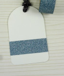Masking Tape, Washi Tape Glitter tape hellblau 15 mm x 10 m