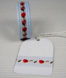 Masking Tape, Washi Tape Blumen Ranke 15 mm x 10 m
