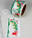 Masking Tape, Washi Tape Weihnachten Schlitten 30 mm x 10 m