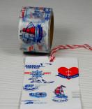 Masking Tape, Washi Tape Beach Nautical 15 mm x 10 m