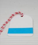 Masking Tape, Washi Tape Einfarbig Himmelblau 15 mm x 10 m