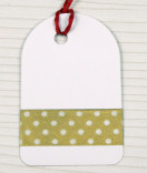 Masking Tape, Washi Tape gold mit Punkten 15 mm x 10 m