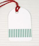 Masking Tape, Washi Tape Streifen grün matt 15 mm x 10 m