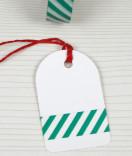 Masking Tape, Washi Tape Streifen grün 15 mm x 10 m