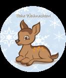 weihnachten-sticker-bambi-60-mm-rund-watsonlabel.net