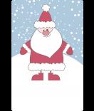 geschenkaufkleber-weihnachten-Weihnachtsmann-blau-watsonlabel.net