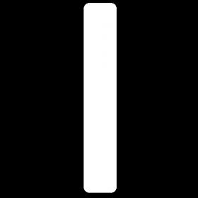 Verschluss Siegeletiketten 12 x 70 mm