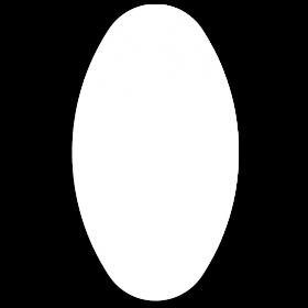 Klebeetiketten oval 45 x 80 mm selbst gestalten