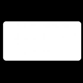 Klebe Etiketten wetterfest 50 x 25 mm