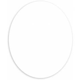 Klebe-Etiketten oval 67 x 81 mm selbst gestalten