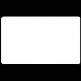 Klebe Etiketten wetterfest 125 x 75 mm